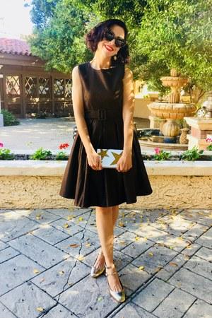 Leroute dress - asos purse - Rebecca Minkoff heels