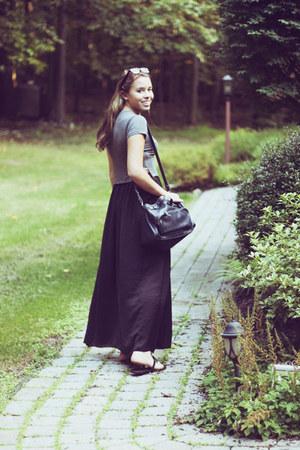 Zara skirt - brandy melville t-shirt