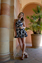 Joia belt - sundress floral Sis Sis dress - brown wedges Soda wedges