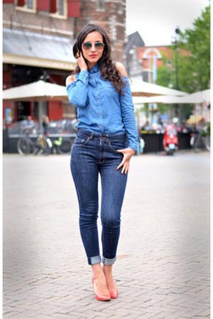 cutout Primark blouse