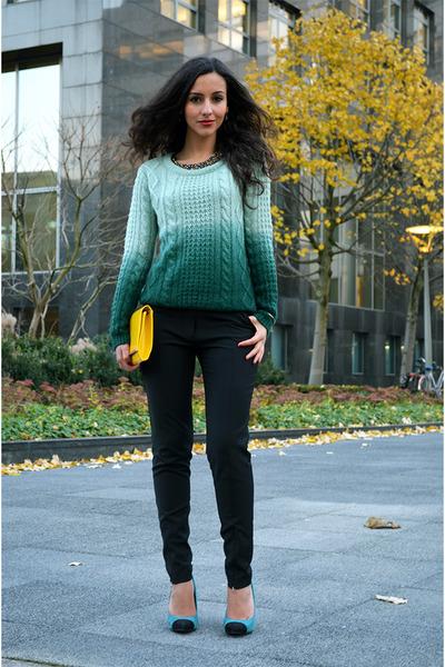 ombre c&a jumper - Vanila pants
