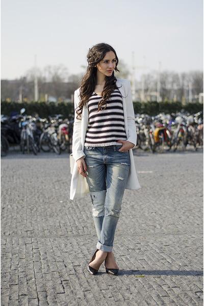8mm jeans - boyfriend jeans H&M sweater
