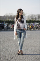 8mm jeans - boyfriend jeans H&M sweater