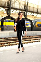 striped Vanilia blazer - striped Vanilia pants
