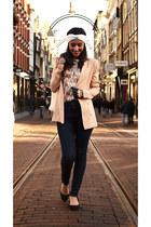Kenzaa blazer - Vanilia jeans - Primark flats