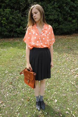 Vintage from Fox VIntage bag - Vintage from Fox VIntage skirt - Vintage from Fox
