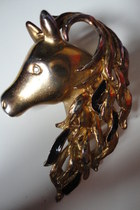horse head Vintage from Fox VIntage accessories