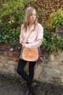 My-own-bag-fox-vintage-shorts-fox-vintage-blouse