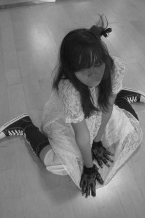 white buy at passer baroe dress - black buy at blok m mall boots - black buy at
