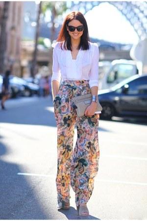 light pink shirt - pants