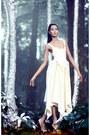 Ivory-dress