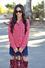 Coral-heart-print-forever-21-blouse-crimson-hamilton-tote-michael-kors-bag