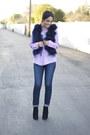 Black-suede-bootie-sam-edelman-boots-navy-j-brand-jeans