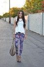 Amethyst-floral-joes-jeans-white-peplum-h-m-top-tan-t-strap-unknown-sandals