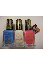 blue print Barry M accessories - pink fizz Barry M accessories - white frost Bar