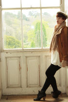 brown vintage jacket