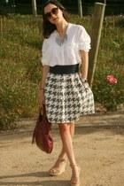 foley & corinna purse - H&M sunglasses - Brandy & Melville blouse - Jimmy Choo w