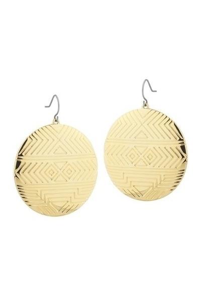 Gold House Of Harlow 1960 Earrings