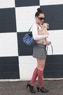 Black-ralph-lauren-boots-cream-j-crew-sweater-blue-vera-wang-bag