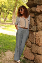 periwinkle chambray JCPenney jumper