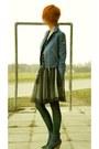 Denim-no-brand-shoes-tutu-concept-skirt