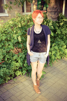 jeans DIY shorts