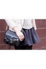 Light-pink-h-m-shirt-black-rebecca-minkoff-bag-black-h-m-skirt