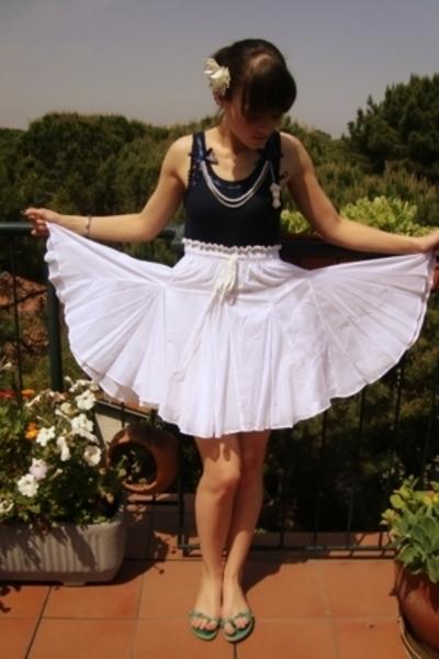 Numerocinque blouse - Zara skirt - Fornarina shoes - self-made accessories