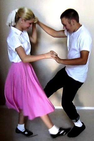 pink handmade shirt - white Walmart blouse - black Aldo shoes