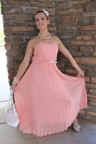 pink Fairy Godmother dress - light pink Betsey Johnson bag