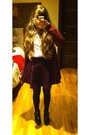 Black-shoes-bubble-gum-striped-zara-shirt-amethyst-short-h-m-skirt