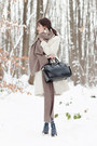 White-sinéquanone-coat-navy-henrik-vibskov-tights-heather-gray-zara-scarf