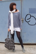 aa top - Zara shoes - aa dress - blendshe bag