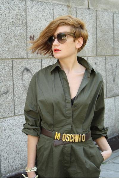 yellow Zara shoes - camel Zara bag - tan Celine sunglasses - dark brown Moschino