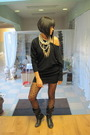 Black-new-yorker-dress-black-mura-tights-black-zara-boots-gold-asos-neckla