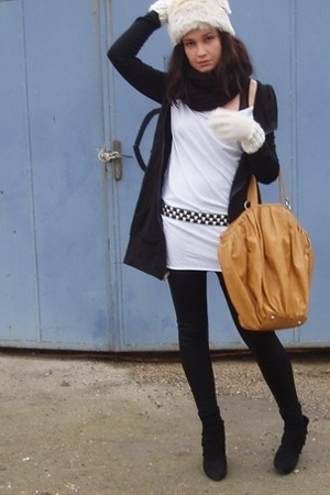 Urban Outfitters hat - American Apparel dress - Urban Outfitters dress - Zara be
