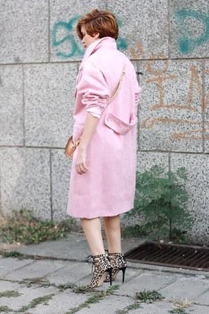 camel animal print Zara heels