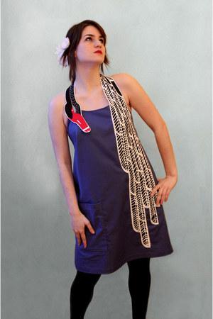 blue Cristina Pires dress