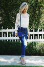 Navy-stylemoi-jeans-white-asilio-see-link-for-similar-style-top