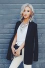 Black-h-m-blazer-silver-happiness-boutique-necklace