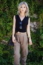 Black-t-by-alexander-wang-t-shirt-light-brown-asoscom-pants