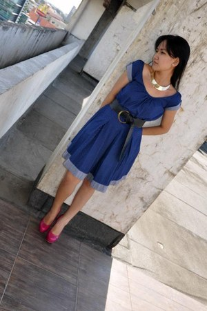 Mango dress - Forever 21 pumps - Chiccat accessories