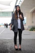 black Zara bag