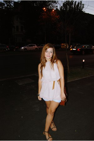 Zara dress - Pimkie bag - Zara sandals