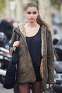 Dark-khaki-zara-coat-black-bershka-bag-black-zara-shorts