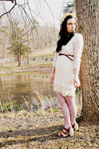 ivory dress