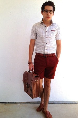 burnt orange School Boy bag