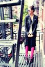 Leather-jacket-zara-jacket-chiffon-blouse-topshop-blouse