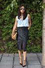 Light-blue-denim-shirt-levis-shirt-camel-zara-bag-black-zara-heels