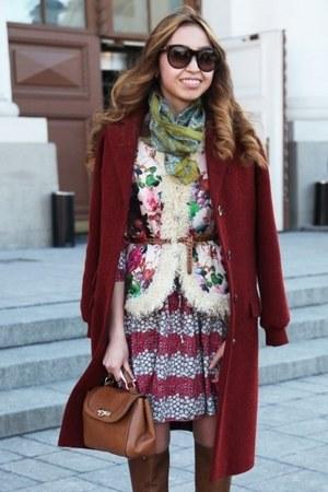 tawny DKNY bag